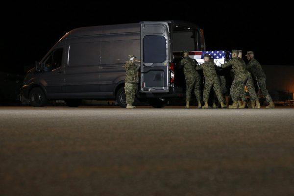 Afghanistan marines returned 2