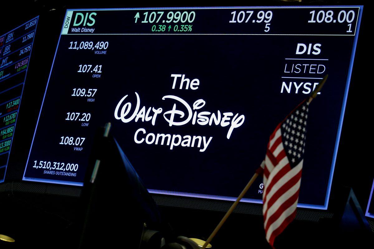 A logo of Disney