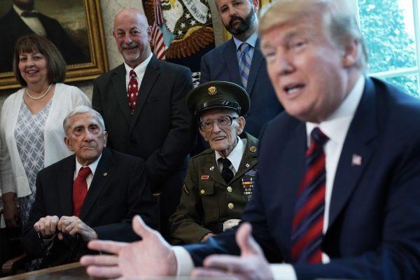 Trump World-War-II-veterans