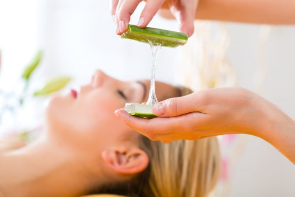 Aloe vera Improves Skin Conditions