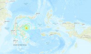 6.8 Magnitude Earthquake Hits Off Indonesian Coast, Brief Tsunami Warning Issued