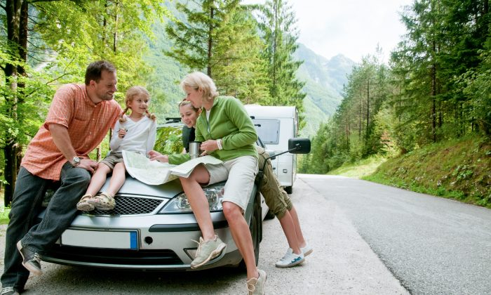 Family road trip: memories in the making. (gorillaimages/Shutterstock)