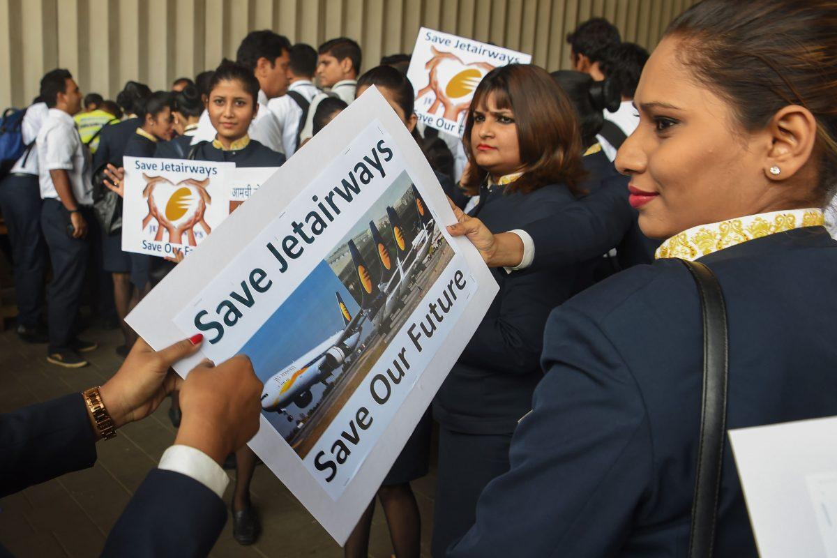 INDIA ECONOMY AVIATION JET AIRWAYS