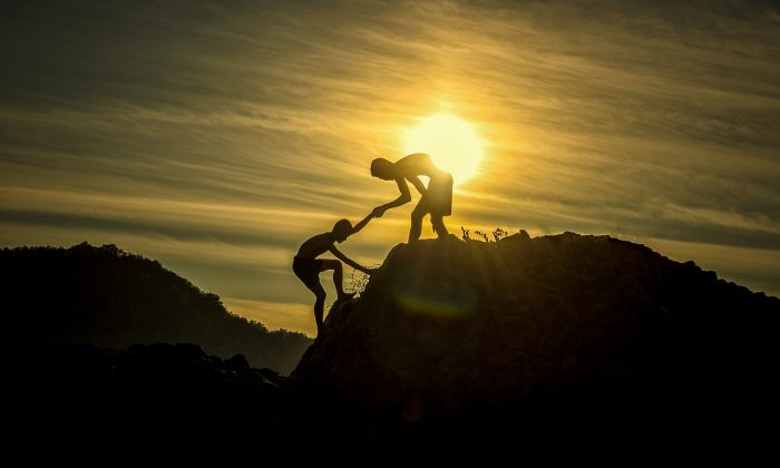 Reach out to one person and ask for support and encouragement.(Pixabay)