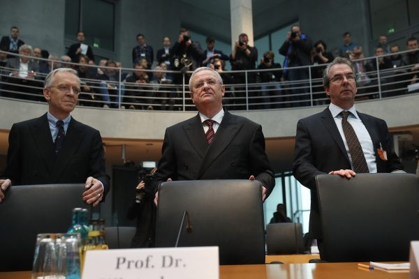 Former VW CEO Winterkorn