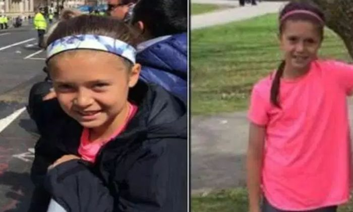 Police have located a 10-year-old girl who disappeared near the finish line of the Boston Marathon on April 15, 2019. (Boston Police Department)