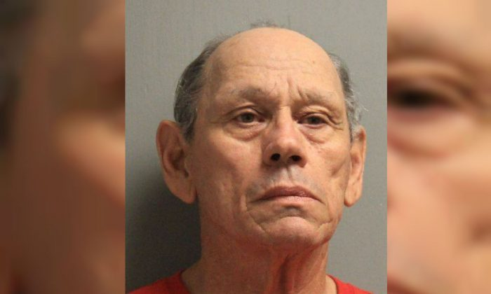 Harvey Joseph Fountain, 71, has been charged with 100 count of first degree rape, according to police. (Rapides Parish Sheriff's Office)