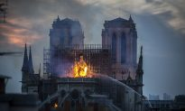 People Report Seeing Religious Figures In Flames of Notre Dame