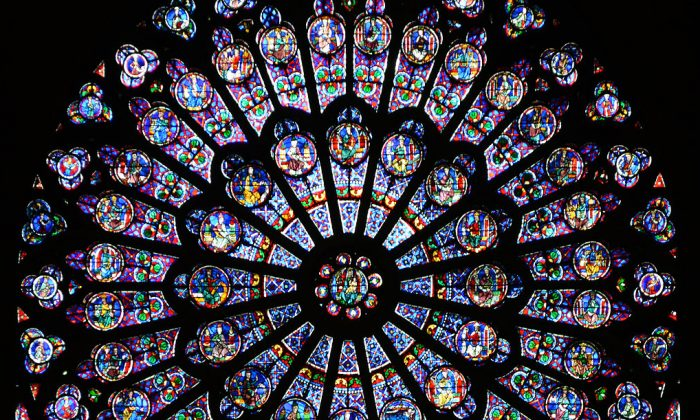 Bilderesultater for notre dame stained glass
