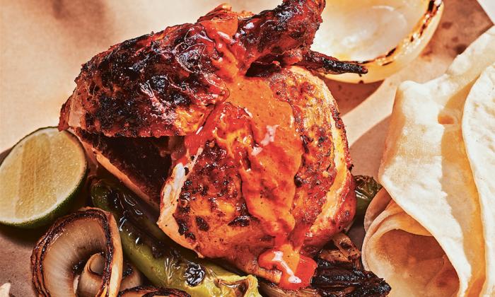Chicken al carbón. (Johnny Autry)