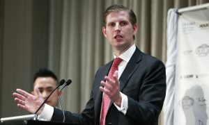 Eric Trump Agrees to Comply With New York AG's Probe After Election