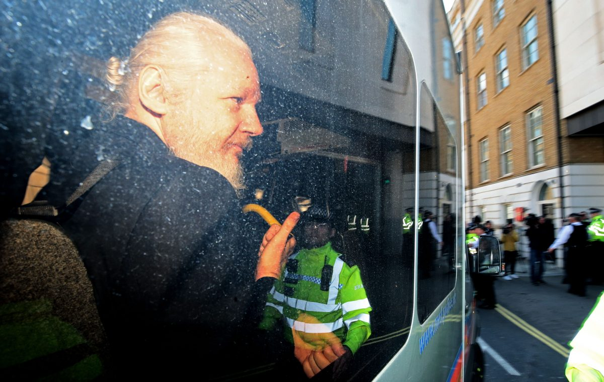 US Outlines Julian Assange Extradition Case