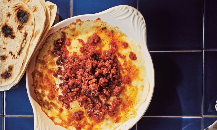 Queso fundido. (Johnny Autry)