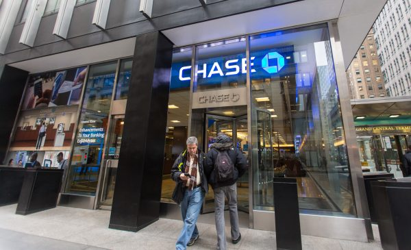 A Chase bank branch on Madison Avenue in Midtown New York
