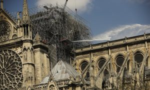 Official: Notre Dame Faced 'Chain-Reaction Collapse' in Fire