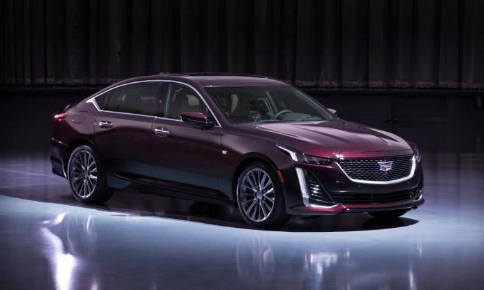 2020 CT5. (Cadillac Canada)