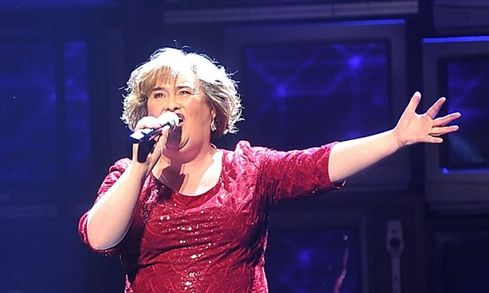 A stock photo of Susan Boyle (Getty Images | Bethany Clarke)