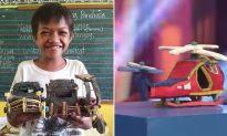 13-Year-Old Boy Too Poor to Buy Toys Creates Model Cars From Discarded Flip-Flops