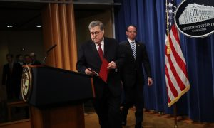 Barr: Mueller Probe Did Not Present Sufficient Evidence to Establish Obstruction-of-Justice Offense