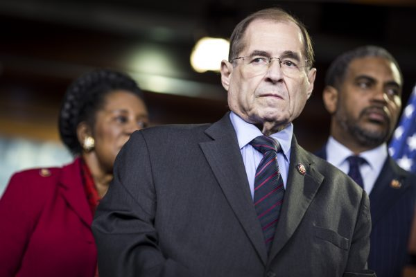Jerry Nadler attends a news conference