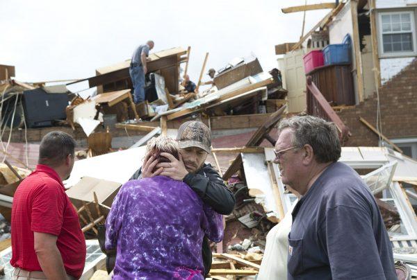 Franklin County tornado damage