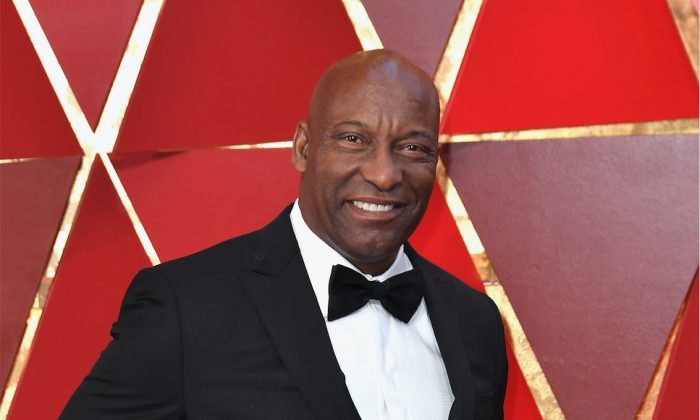 John Singleton at the 90th Annual Academy Awards at Hollywood & Highland Center in Hollywood, Calif., on March 4, 2018. (Neilson Barnard/Getty Images)