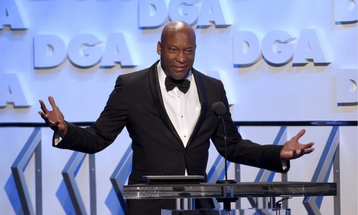Director John Singleton speaks onstage during the 70th Annual Directors Guild Of America Awards at The Beverly Hilton Hotel in Beverly Hills, Calif., on Feb. 3, 2018. (Kevork Djansezian/Getty Images for DGA)