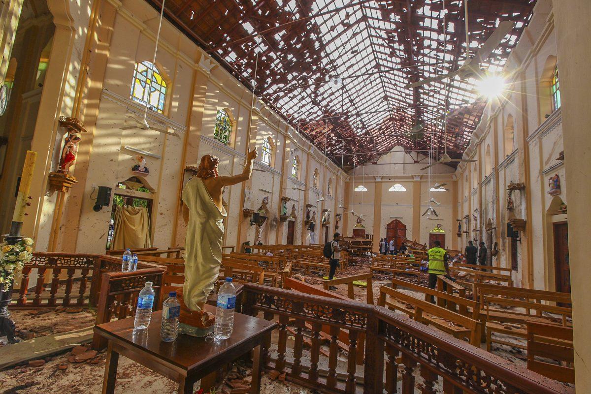 St. Sebastian's Church in Sri Lanka