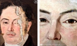 Captivating Art Restoration Caught On Video