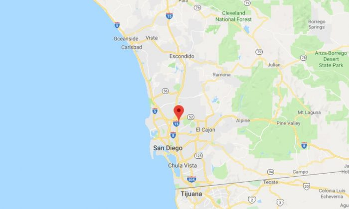 A Southern California hiker believed he discovered an abandoned puppy. But it wasn't what it seemed. (Google Maps)