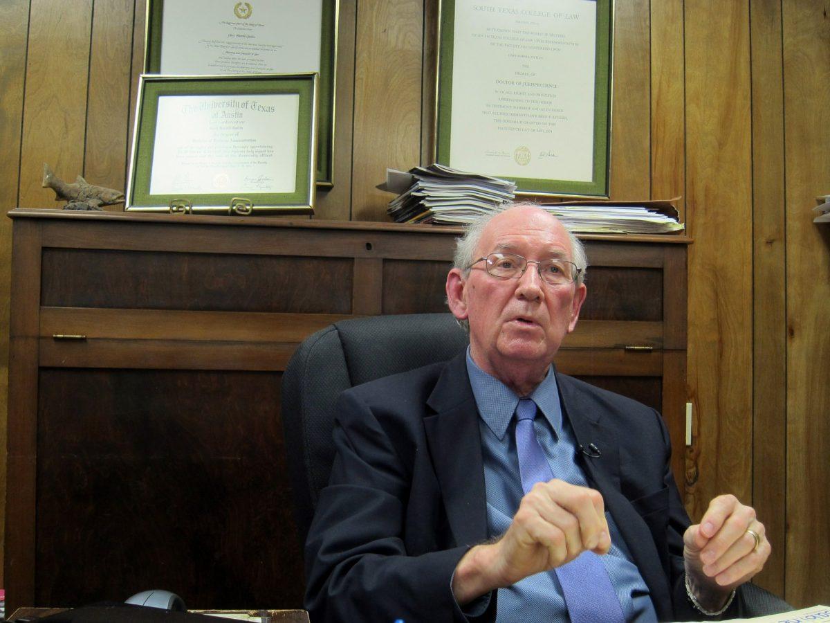 Gary Gatlin, the interim mayor of Jasper, Texas