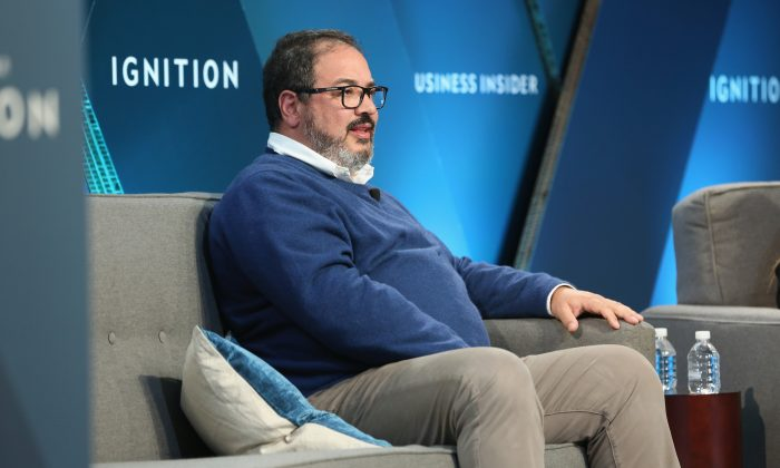 Miguel Patricio, CMO of Anheuser-Busch InBev, speaks onstage at IGNITION: Future of Media at Time Warner Center on Nov. 30, 2017 in New York City.  (Monica Schipper/Getty Images)