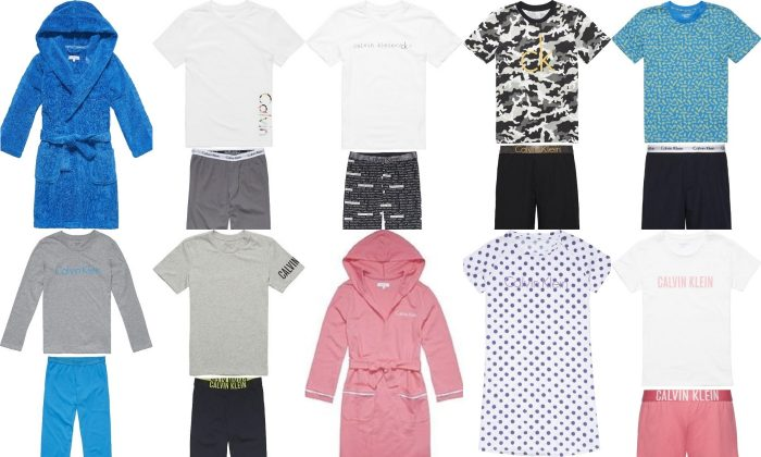 Health Canada issued a recall warning for Calvin Klein children's sleepwear, shown here, on April 23, 2019. (Health Canada)