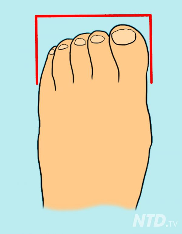 Here Are 13 Types of Toes, and the Fascinating Clues They Reveal About Your Personality
