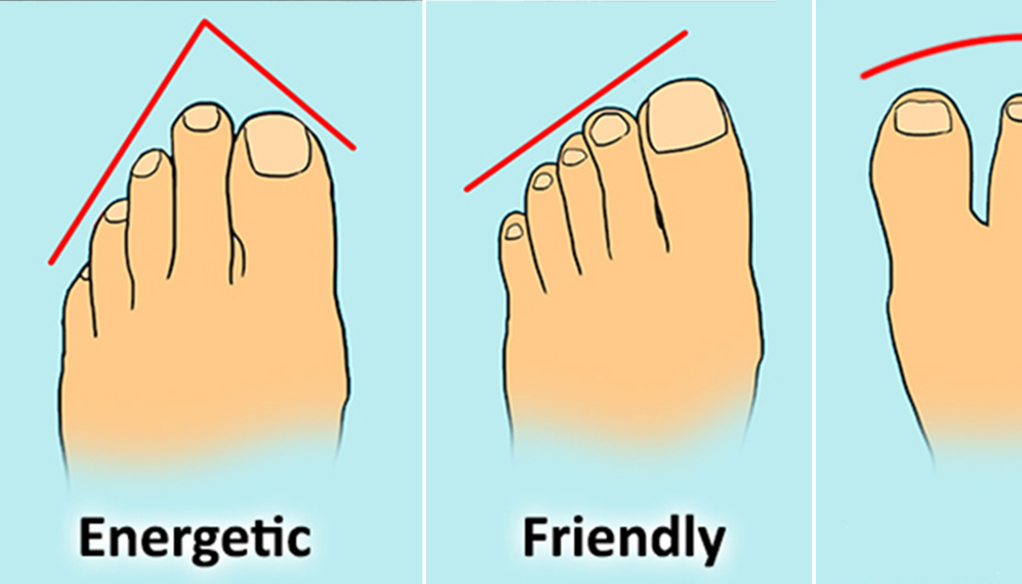 Here Are 13 Types of Toes and the Fascinating Clues They Reveal About Your Personality