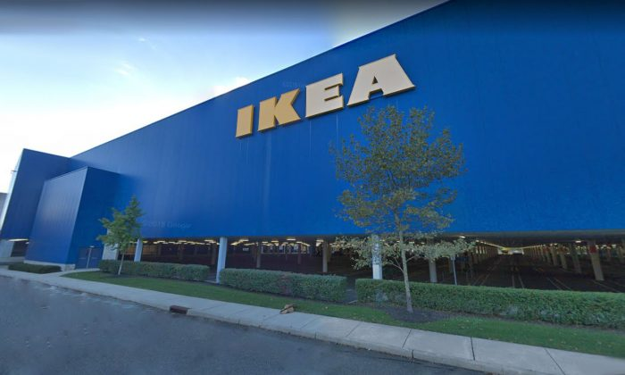Exterior of the IKEA store in Paramus, N.J., in October 2018. (Google Maps Street View/Screenshot)