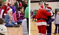 Santa Brings Marine Home