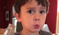 Boy Drinks Soda for the First Time, His Reaction Is Hilarious
