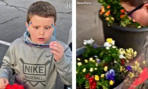 Video: 6-Year-Old Boy Sees His Mother's Face Light up for the First Time