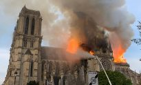 The Burning of Notre Dame