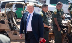 Trump: Reports Saying Border Wall Fell Over Are Misleading