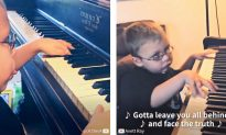 Bind Child Prodigy Stuns Viewers on Piano