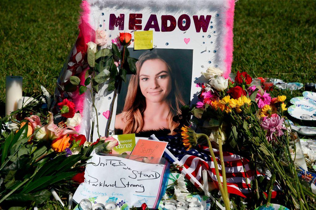 A memorial for Meadow Pollack