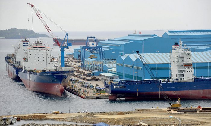 Philippine Government Excludes Chinese Bidders for Shipyard, Citing