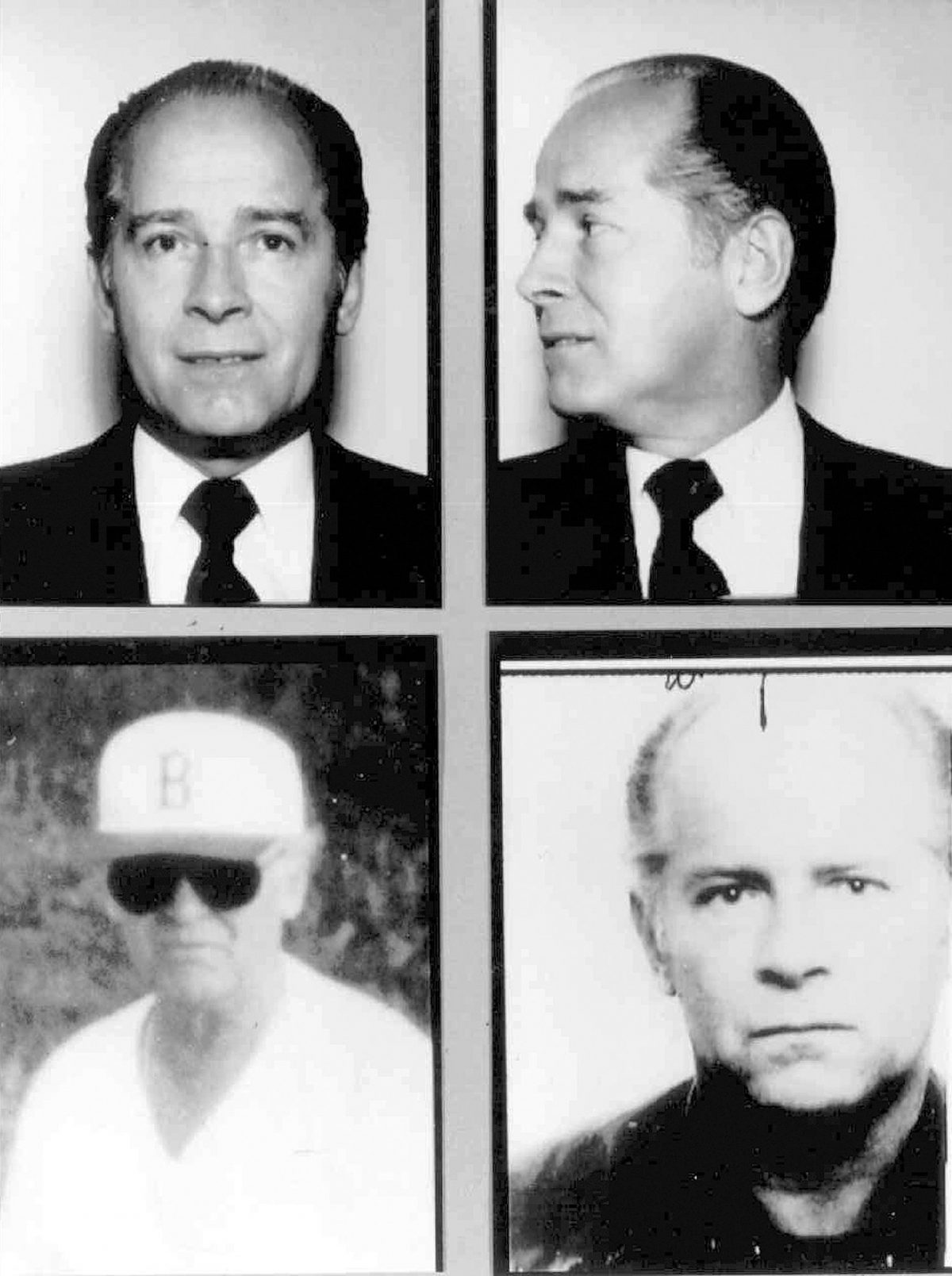 "Massachusetts mobster James ""Whitey"" Bulger."