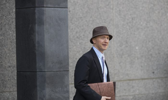 A file photograph of Carter Page in Washington. (Drew Angerer/Getty Images)
