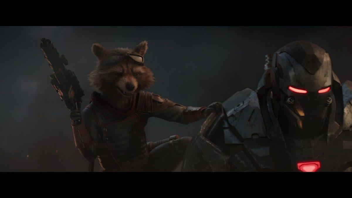 raccoon and War Machine