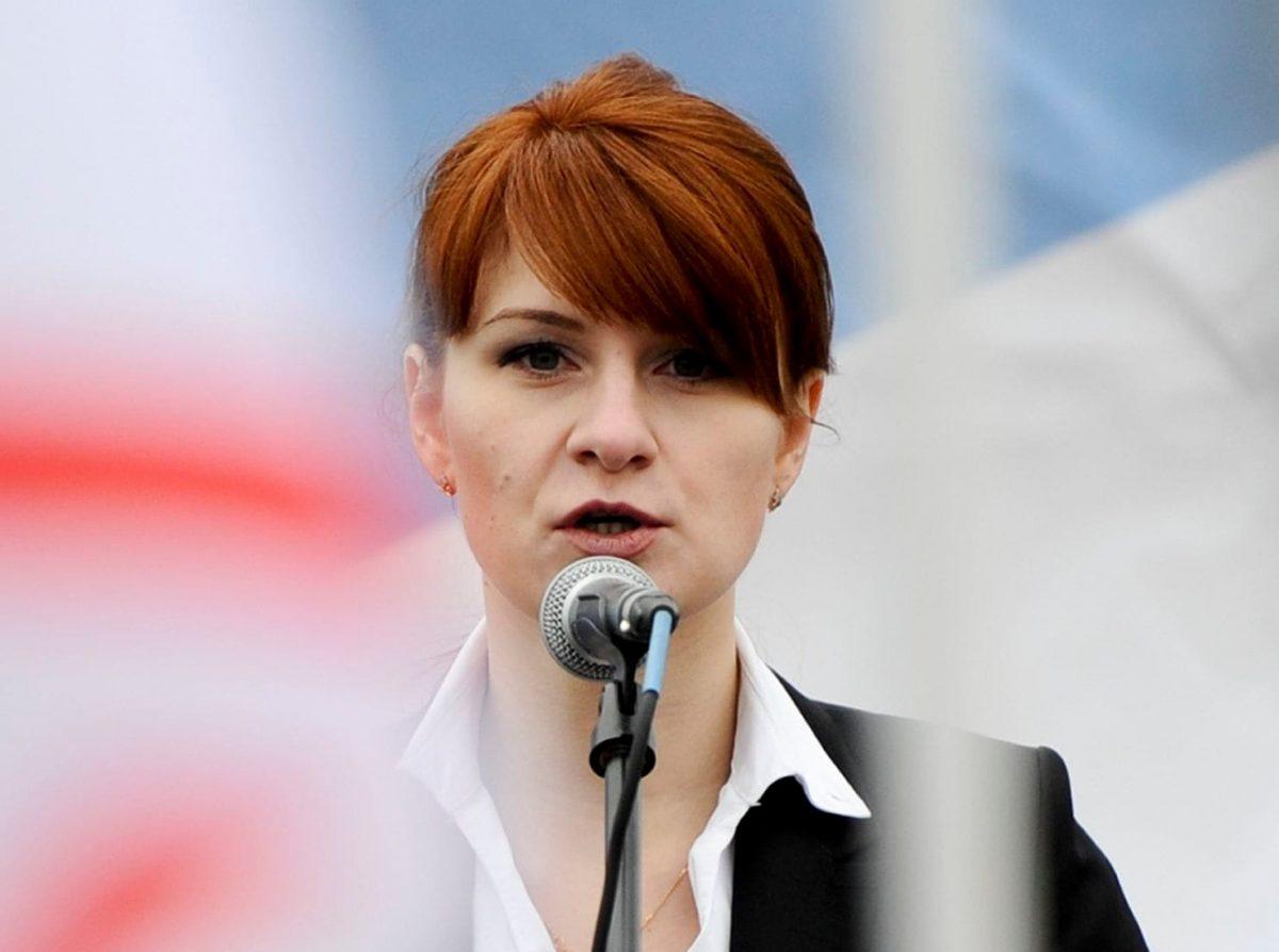 Maria Butina in Russia