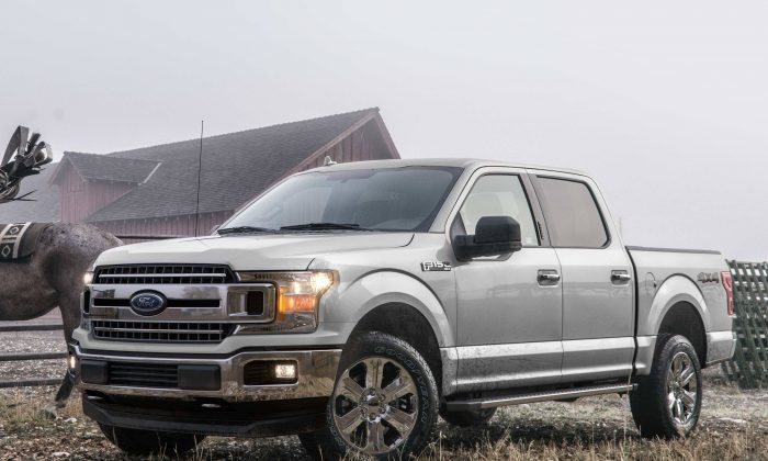 2019 Ford F-150. (Courtesy of Ford)