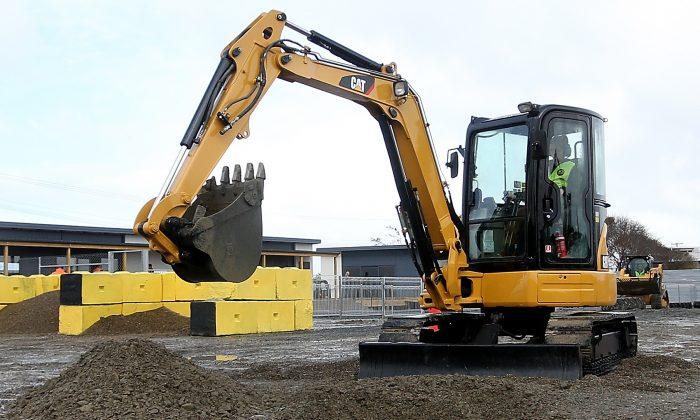 An excavator. (Dianne Manson/Getty Images)